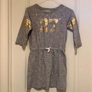 Sz 10/12 Girl's Dress by Cat & Jack with number 27
